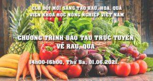Chương trình đào tạo trực tuyến về rau, quả